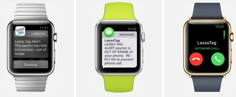 Tag and track your valuables with apple watch